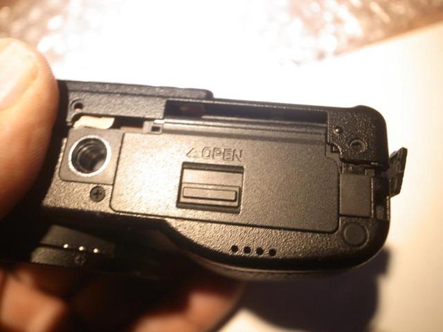 GR3電池カバー部